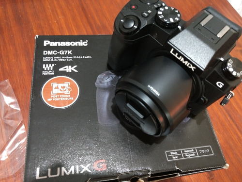 panasonic lumix g7 kit 14-42 + 45-150mm / nueva