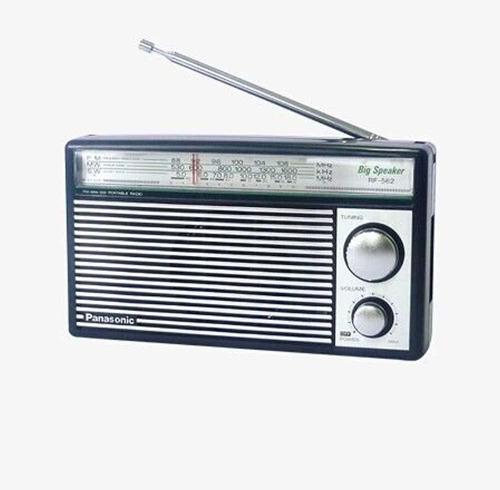panasonic rf-562d radio am fm onda cortaestilo retro a pila