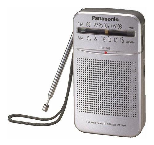 panasonic rf-p50 radio de bolsillo am/fm c/ parlante analoga