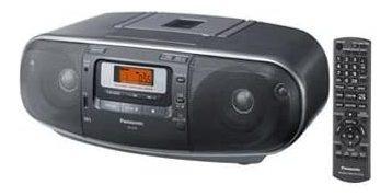 panasonic rx-d55gc-k boombox - radio am / fm estéreo portáti