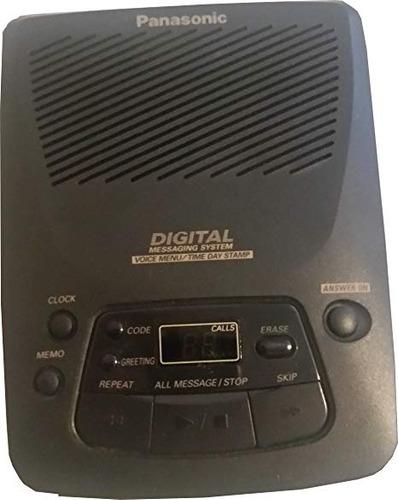 panasonic sistema de contestadora digital kx-tm80d-b (negro)