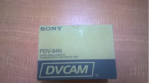 panasonic sony dvcpro dvcam casette de video digital