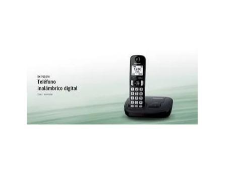 panasonic teléfono inalámbrico con altavoz e identificador d