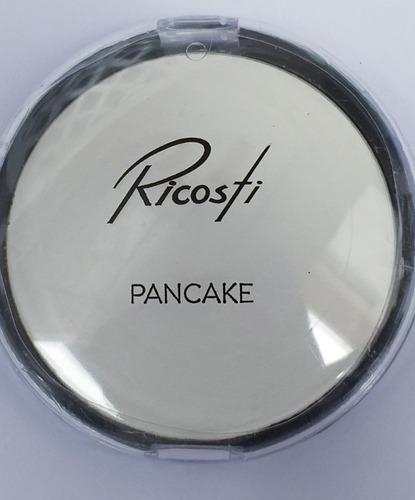 pancake branco maquiagem para palhaço rosto ricosti
