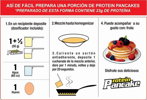 pancake x 750 gramos upn