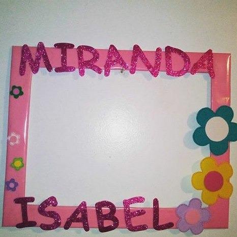 pancartas, decoracion, nombres con foami y mucho mas