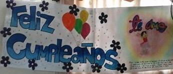 pancartas personalizadas, cumplemes, cumpleaños, bienvenidas