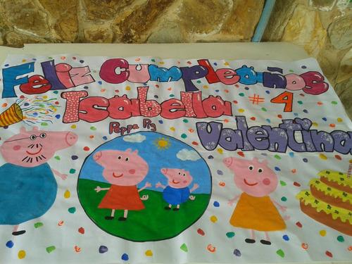 pancartas y piñatas cumpleaños disney princesas otros