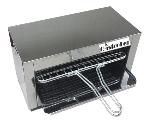 panchera con calienta pan + carlitero + freidora 8 lts roa