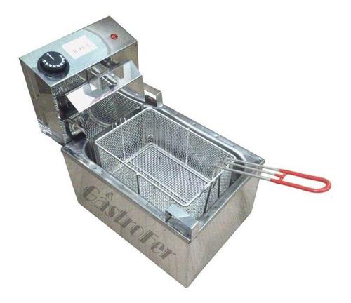 panchera con calienta pan + freidora 8 lts eléctrica roa