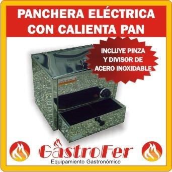 panchera electrica c/ calienta pan roa 28 salchichas panchos