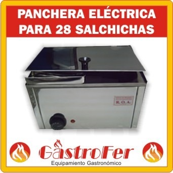panchera profesional roa 28 salchichas nueva c/garantia!