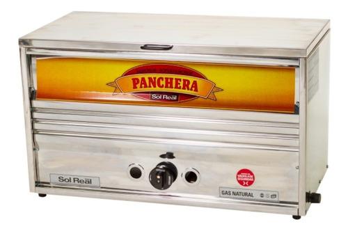 panchera sol real super pancho 72 cm mediana acero inox 066