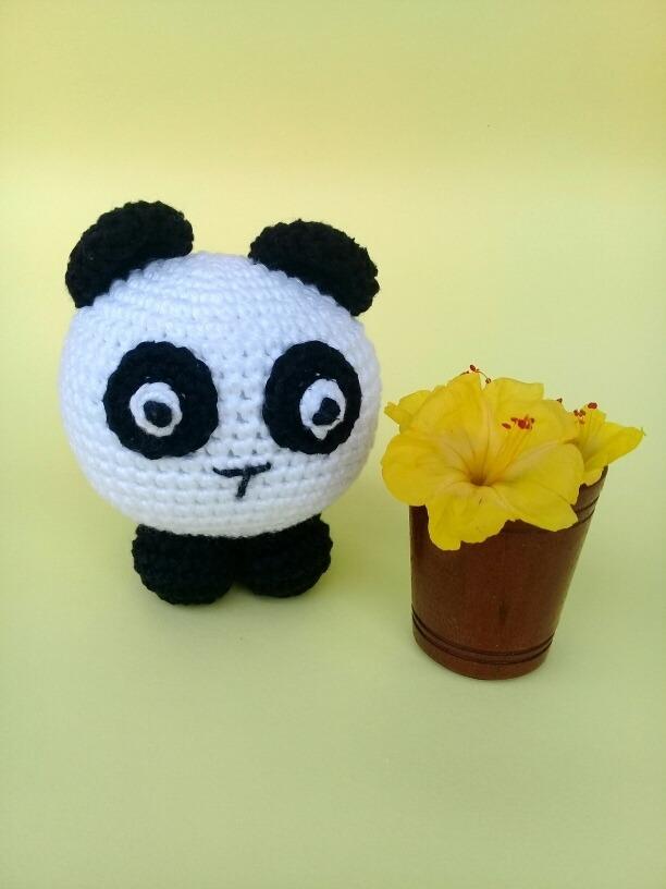 Lolla Panda em Crochê, Amigurumi - Artigos infantis - São Judas ... | 816x612