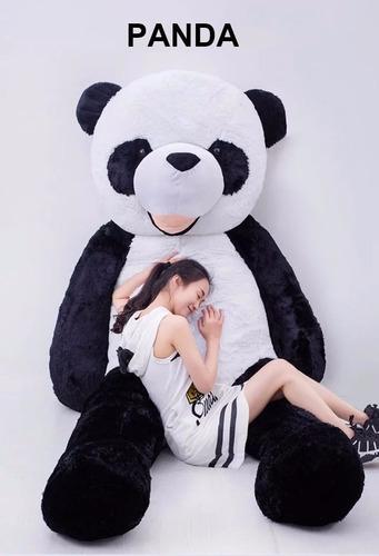 panda de pelúcia 1,60 mts 160cm boneco presente decoração