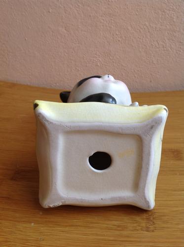 panda de porcelana antiguo