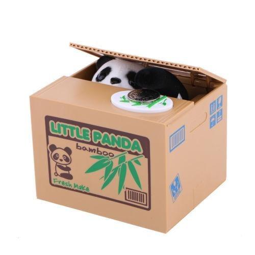 panda - gato panda robando dinero de usted la travesura-3206