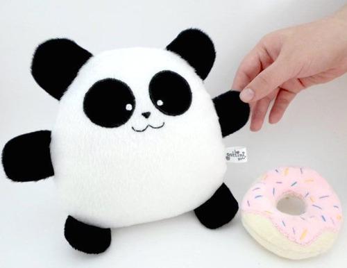 panda niño peluche nombre personalizado cumpleaños amor bebé