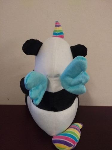 pandacornio chico 25cm unicornio panda peluche