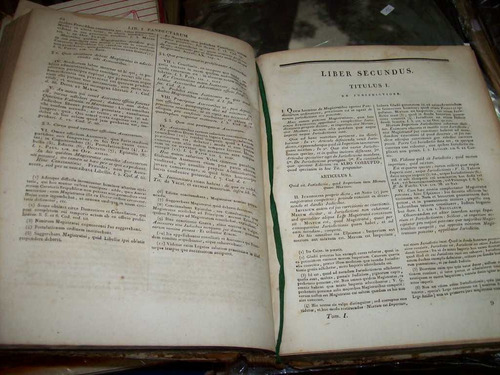 pandectae justinineae tomus primus  a libro i, ad xii latin