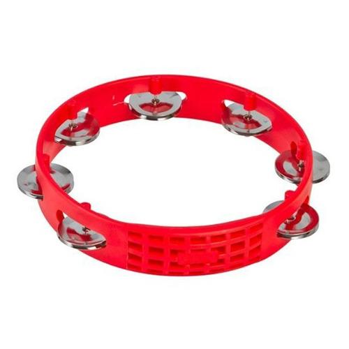 pandero 8  lp percussion lpa181 rojo 12 cuotas + envío