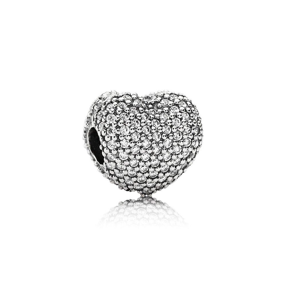 6adf7a85dc05 Pandora 791427 cz Abrir Mi Corazón Plata De Ley Clip -   279.900 en Mercado  Libre