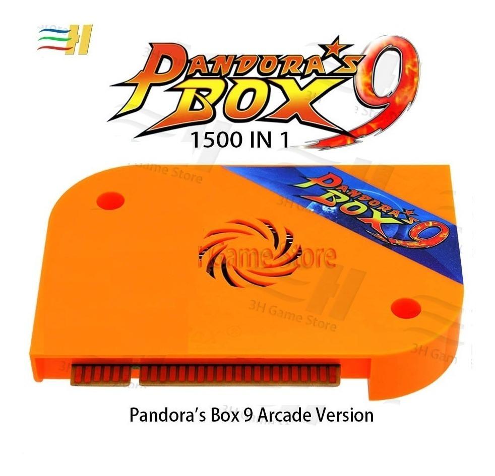 Pandora Box 9d 2222 Jogos Original C/ Cabo Chicote Jamma 9 D
