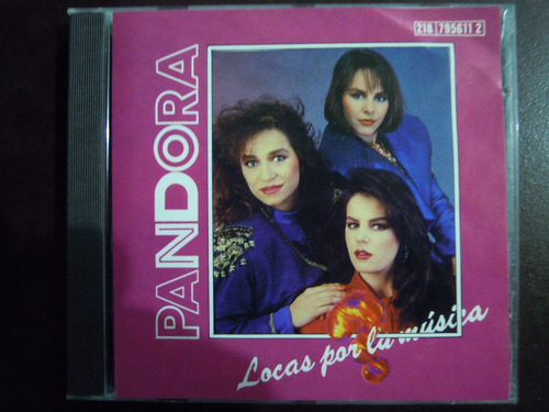 pandora cd locas por la musica edicc 1990