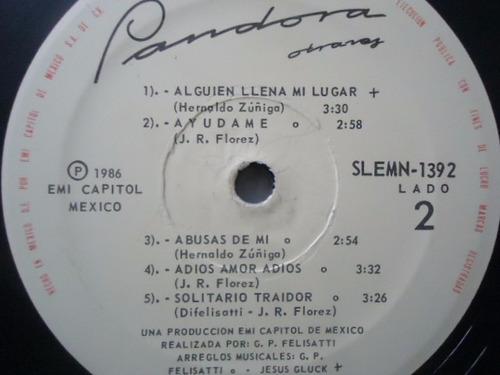 pandora / otra ves vinyl lp acetato