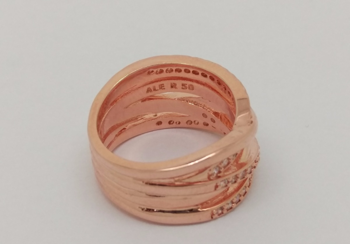 anillo entrelazado pandora
