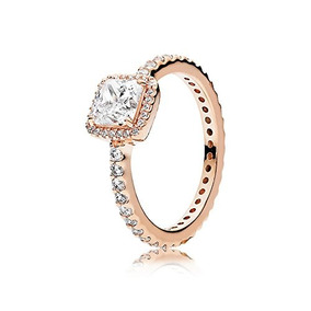c826ea8cbbf1 Pandora Timeless Elegance Rose Y Anillo De Cz Transparente,
