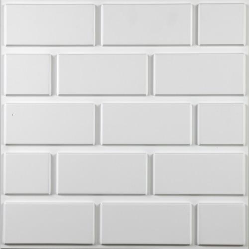 panel 3d pvc placa pared revestimiento 50x50 antihumedad