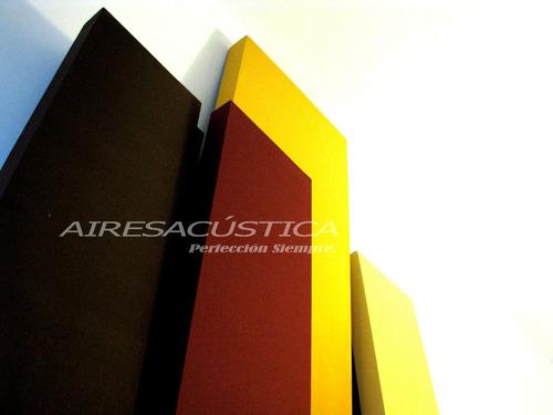 panel acústico ( 1.00 x 1.00 metros. alta densidad )