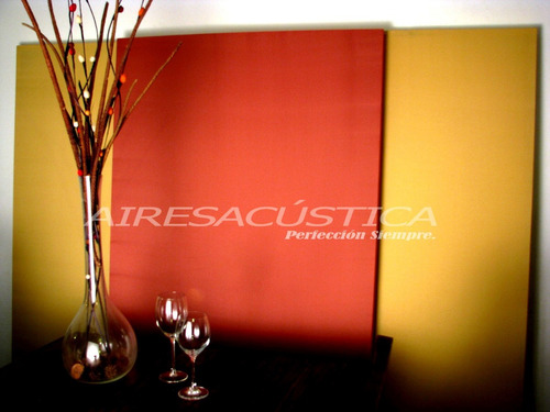 panel acústico ( 2.40 x 1.00 metros. alta densidad )