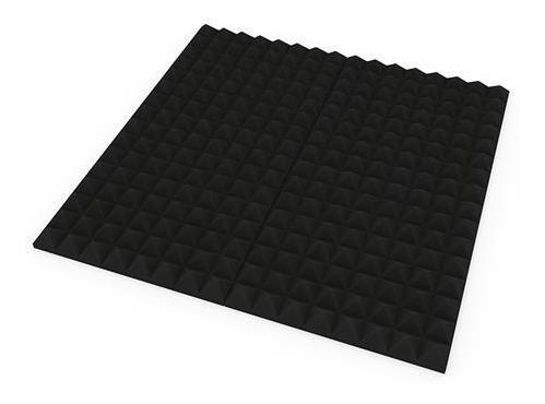 panel acustico aislante de ruido acuflex basic piramide 30mm