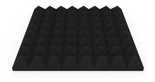 panel acustico aislante de ruido acuflex basic piramide 50mm