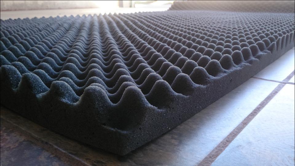 Panel acustico espuma ondulada trampas y difusores 1 - Paneles de poliuretano ...
