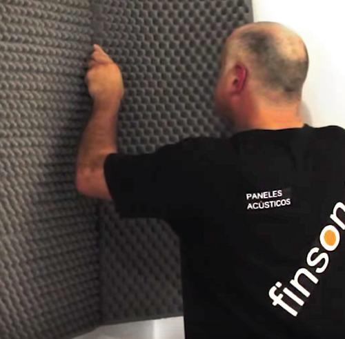panel acústico / placa acústica 100 x 50 x 3 cm. envíos