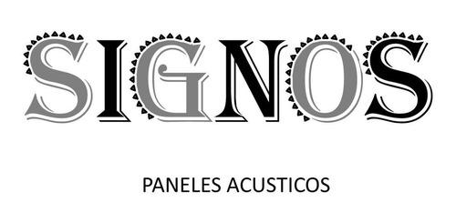 panel acústico / placa acústica signos 250x250x50