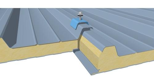 panel aislante poliuretano doble chapa ideal techos - por m2