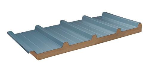 panel aislante poliuretano inyectado - ideal techos - por m2