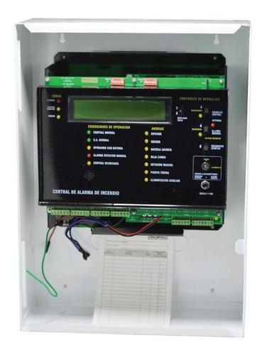 panel alarma contra incendio vencontrols vc-16elite
