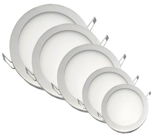 panel bala led redondo 9w incrustar 90% ahorro de energia.