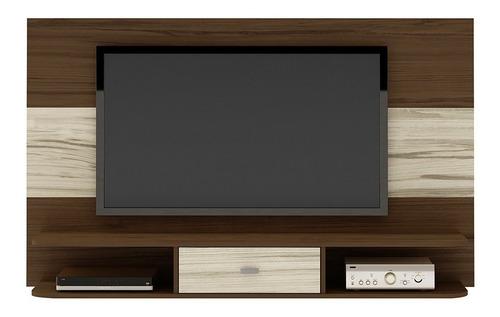 panel bertolini studio imbuía capuccino pantalla hasta 42