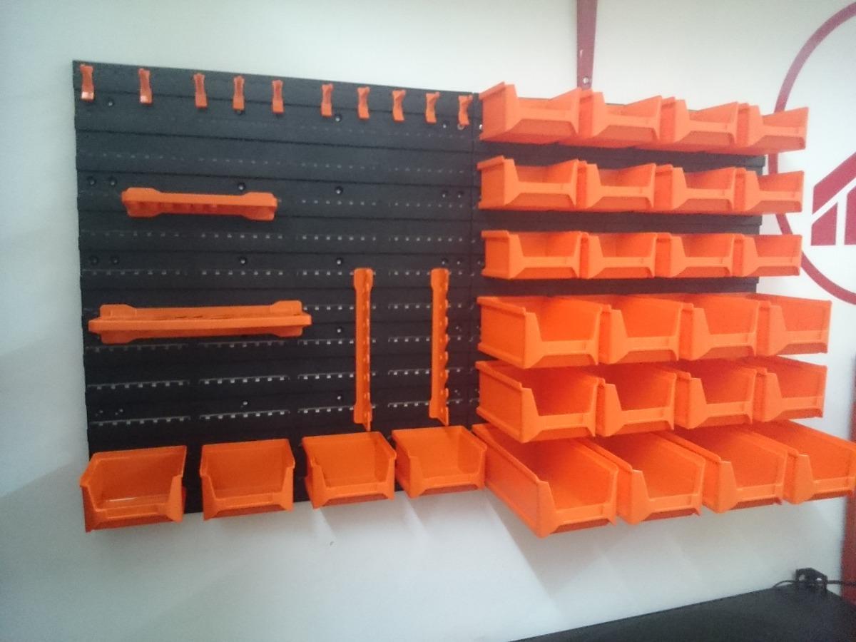 Panel caja organizador herramientas de pared 43 pzas - Caja con herramientas ...