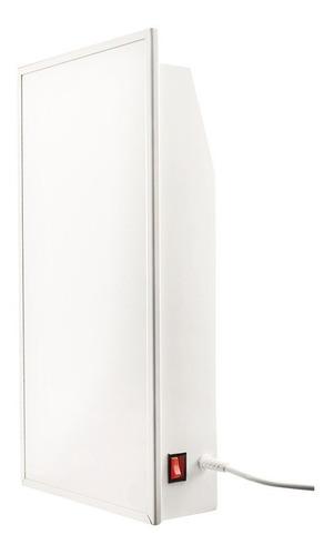 panel calefactor ceramico foco blanco 1000w compacto
