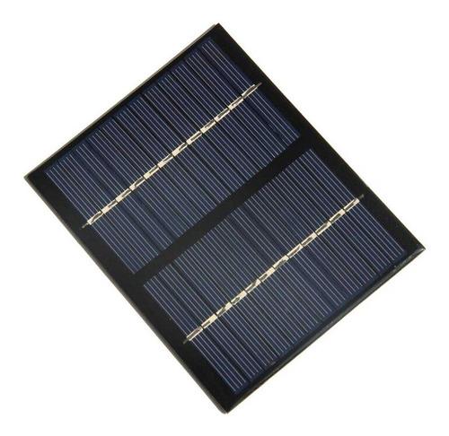 panel celda solar 12v 1.5w - con cable