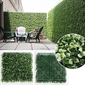Panel cesped pasto artificial p jardin vertical 25 x for Sillas para jardin home depot