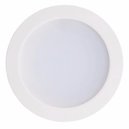 panel circular 12w 18 blanco puro y blanco calido