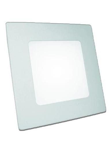 panel cuadrado embutir led 6w luz fria o calida sica